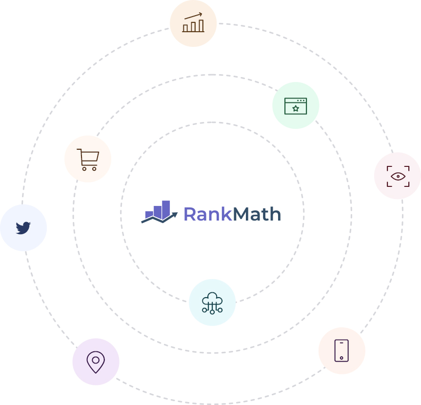 Rank Math Module Icons