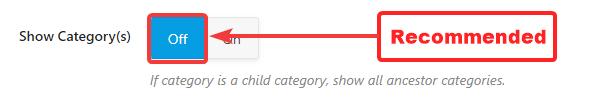 show category