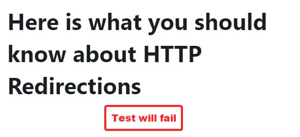 odak anahtar kelimesi için başarısız test örneği