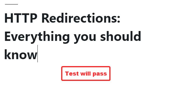 название переписано, чтобы пройти тест