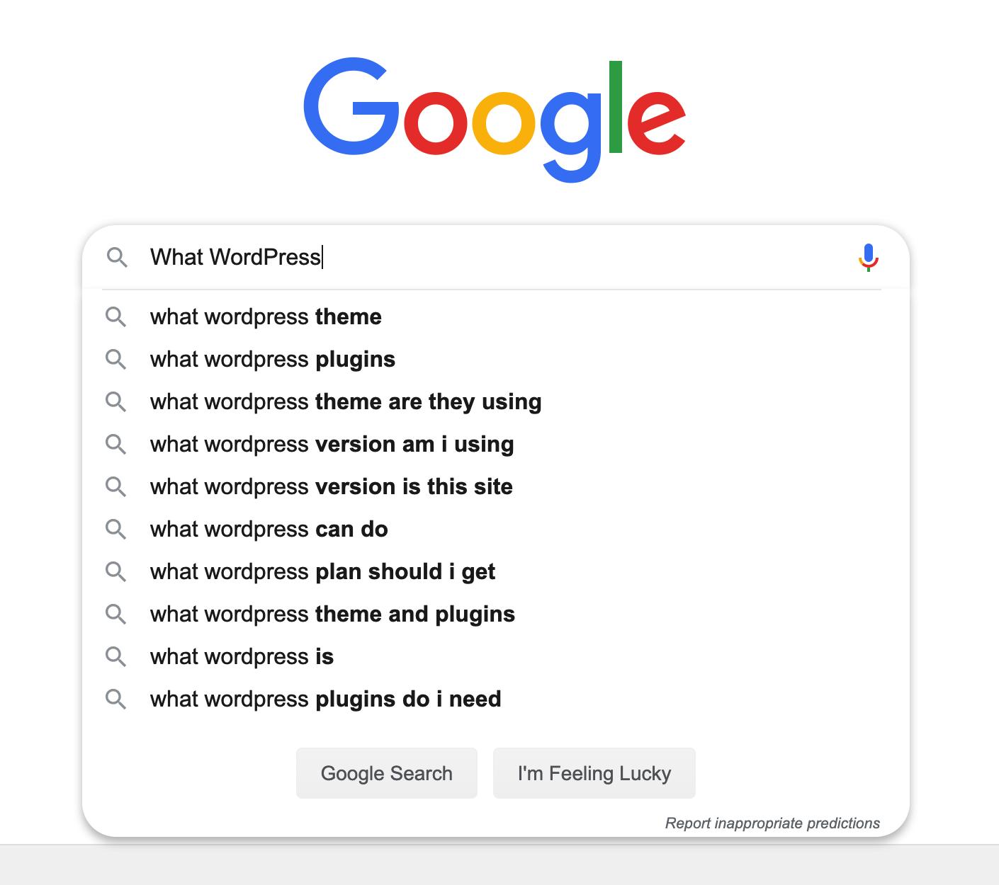 wordpress-google-autocomplete