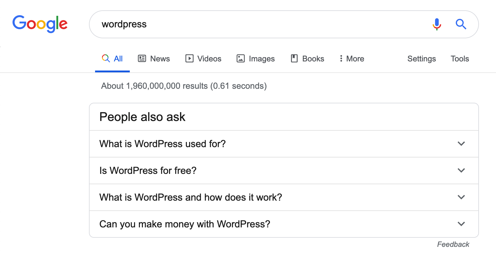 google-wordpress-related-questions