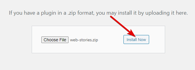 Click The Install Button To Install The Plugin