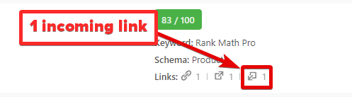 How To See Number Of Incoming Links To A Post In Rank Math