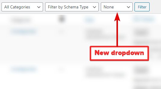New Dropdown Menu Will Appear In Filter Menu