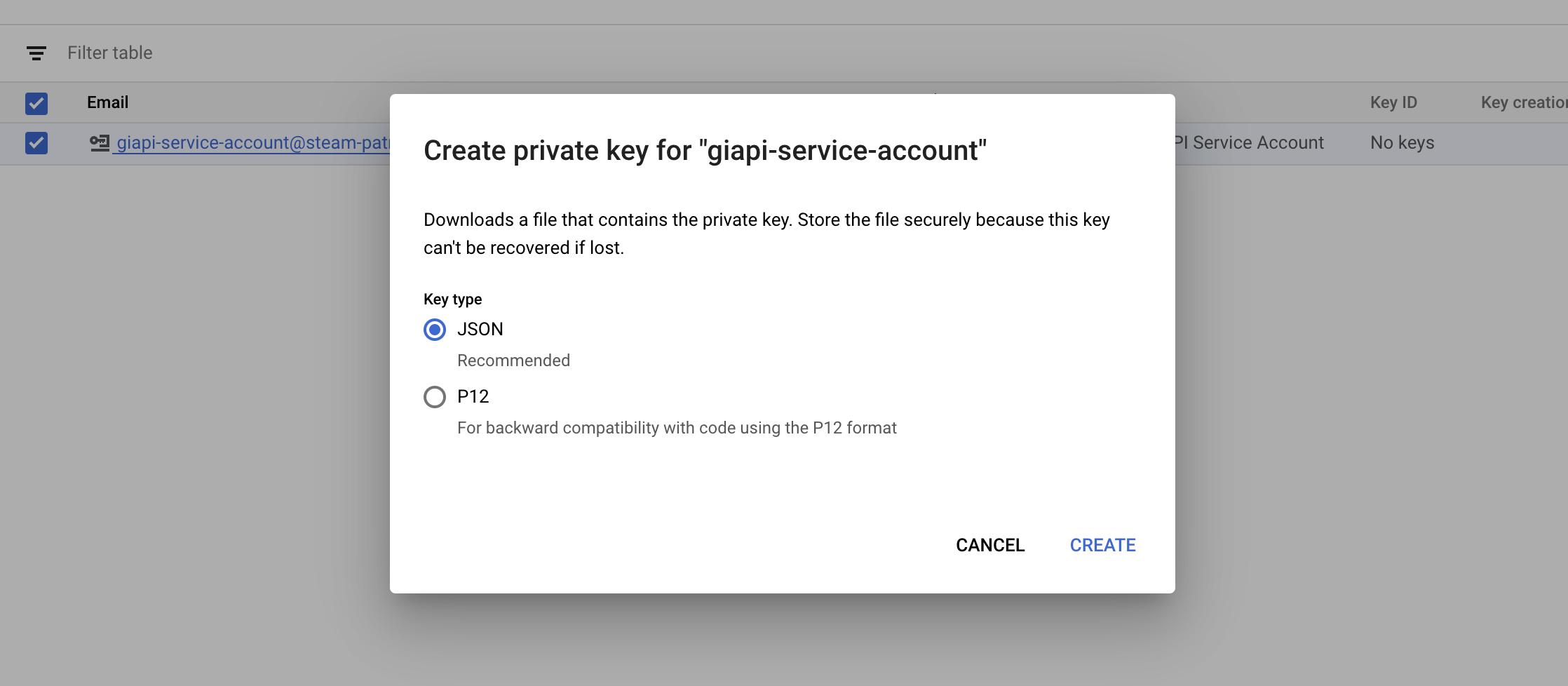 select-key-type