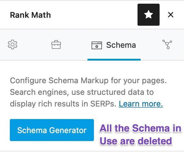 Schema Deleted