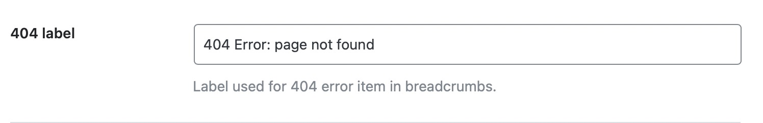 404 label