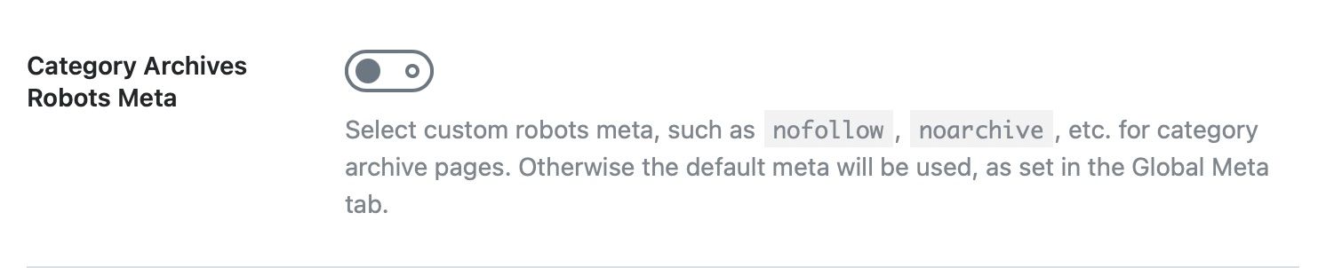 Category archives robots meta