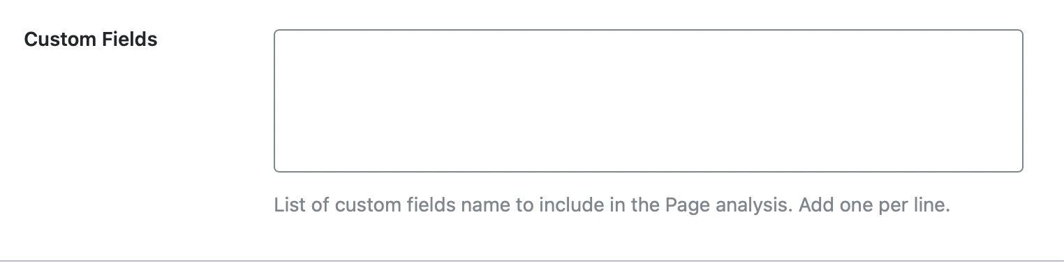 Add custom fields for forums