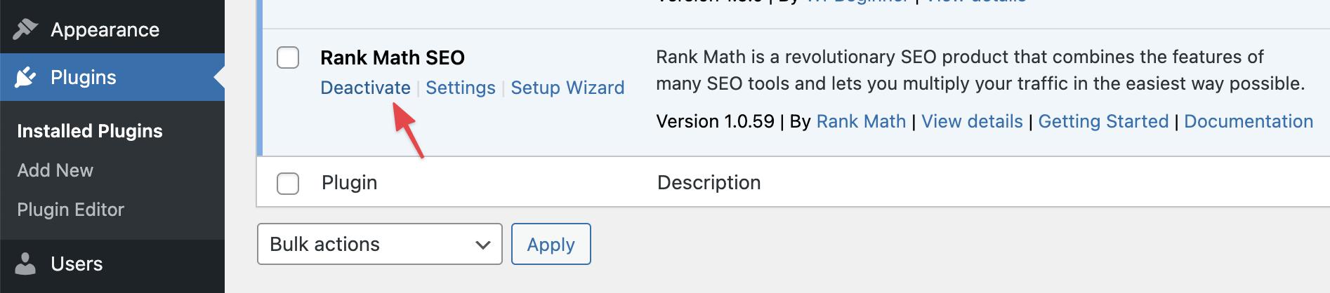deactivate-rank-math