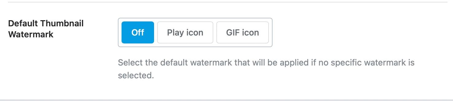 Default Thumbnail Watermark - posts meta