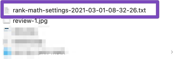 export file timestamp