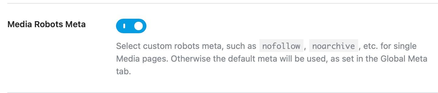 media robots meta