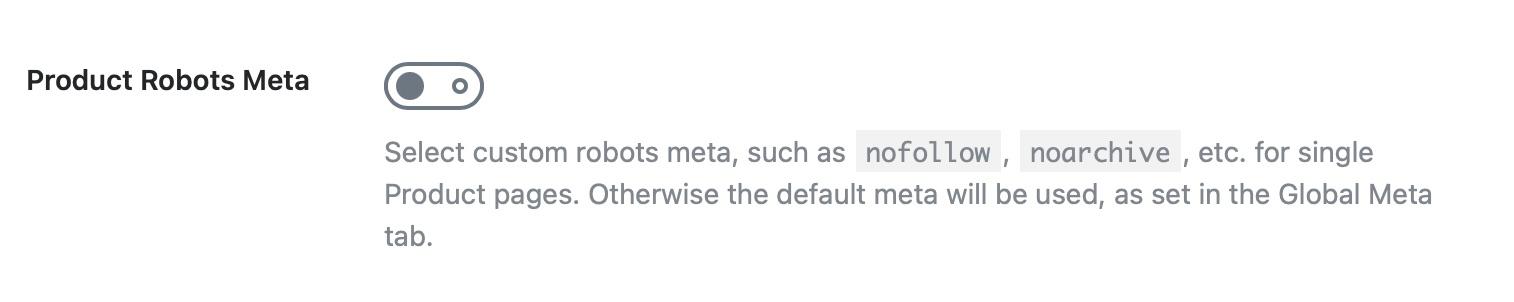Products robots meta