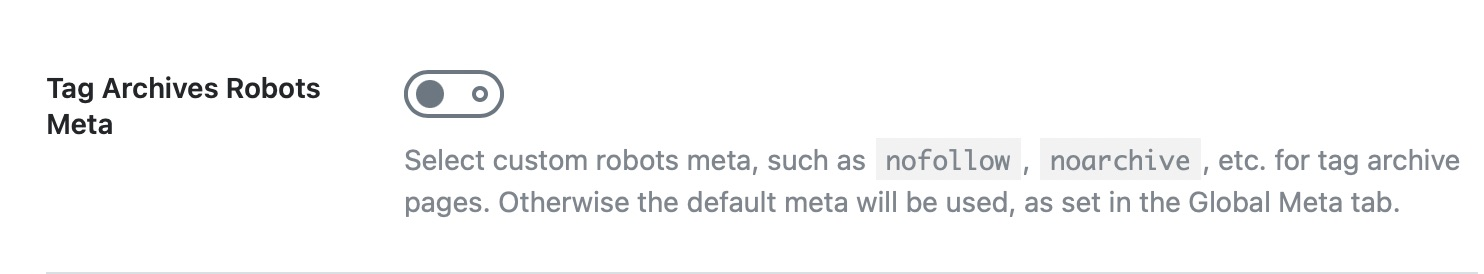 Product tag archives robots meta