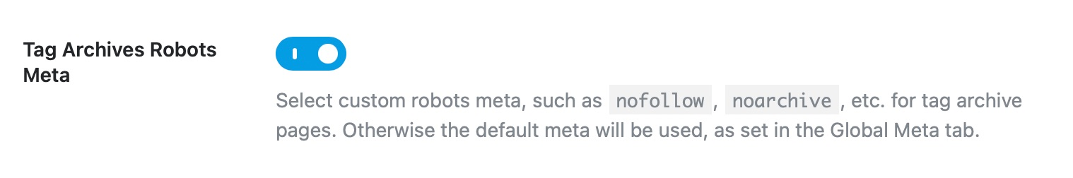 Tag archives robots meta