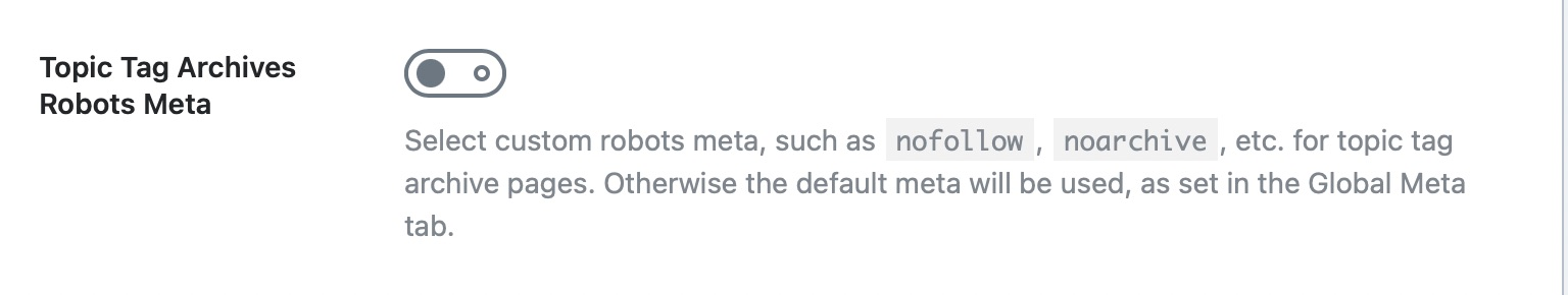 Topic tag archives robots meta