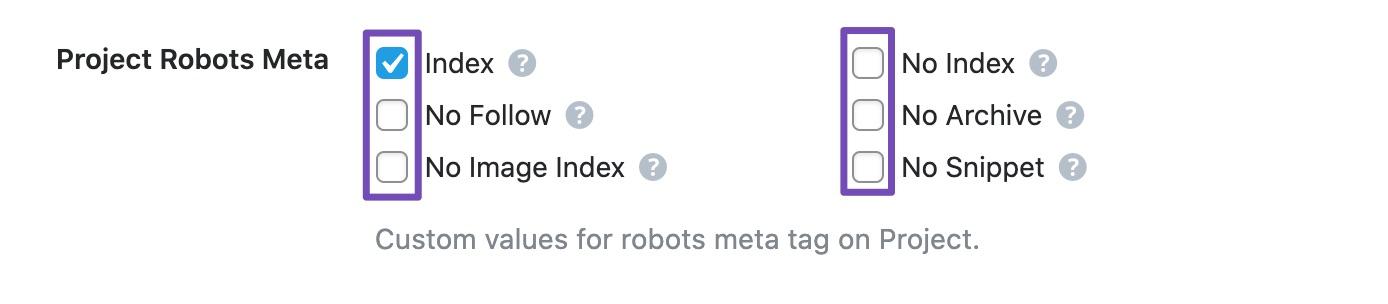 Custom Robot Meta Settings for New Post Type