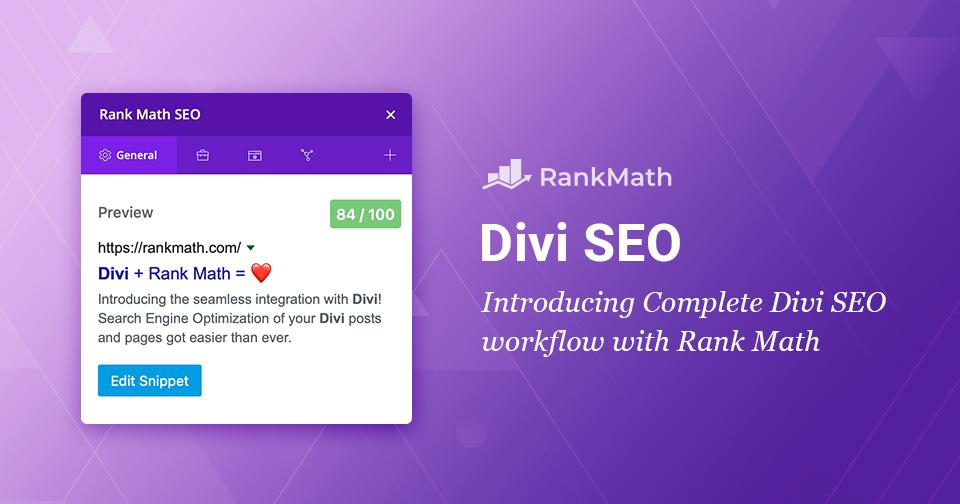 Divi SEO –Building SEO-friendly Websites Visually