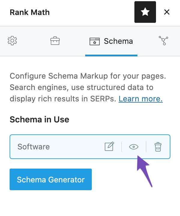 Preview Schema Markup in Rank Math
