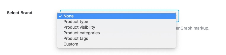 Choose brand taxonomy