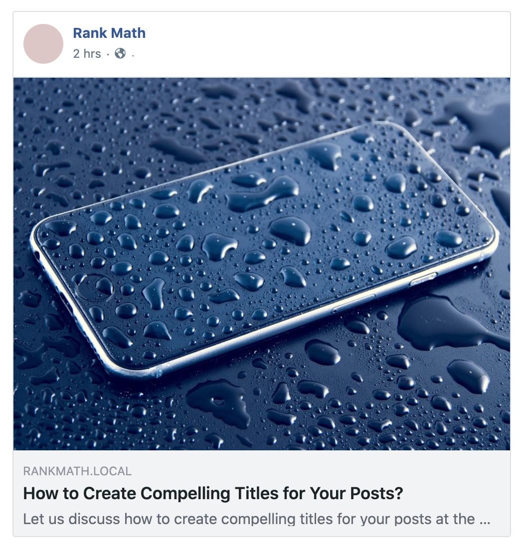 Social preview - facebook image