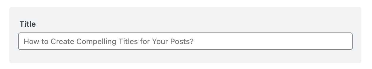 Title placeholder in Facebook sharing options