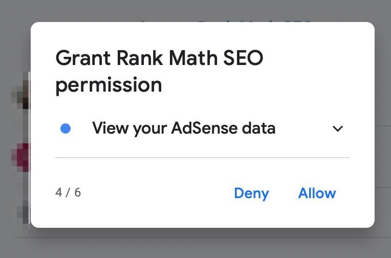 Rank Math Permission Four