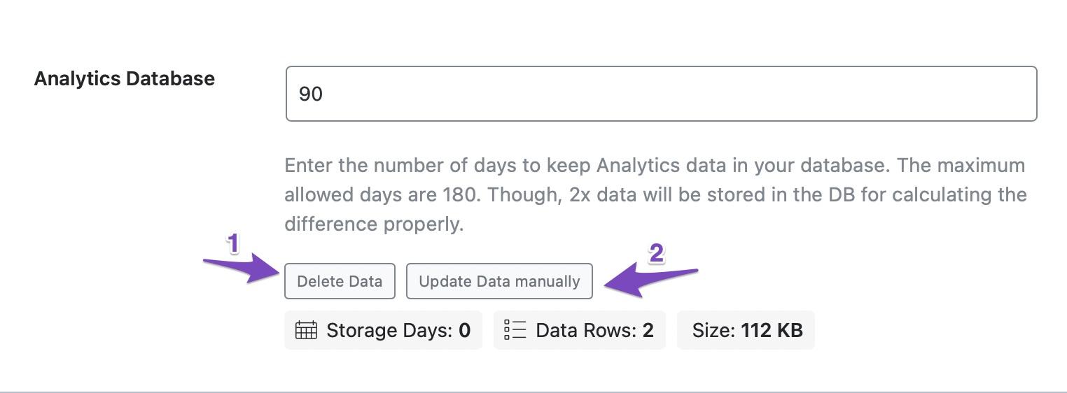 Delete and Update data in Analytics