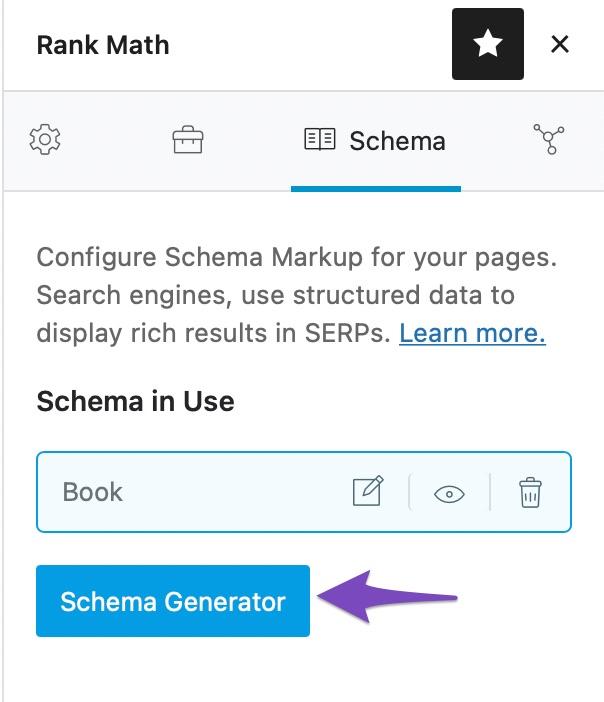 Click Schema Generator