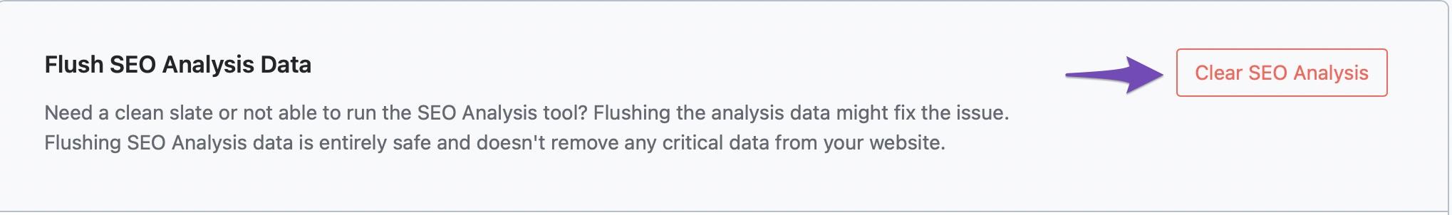 Flush SEO Analysis