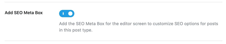 Add SEO meta box for RM Locations
