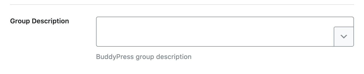Group description