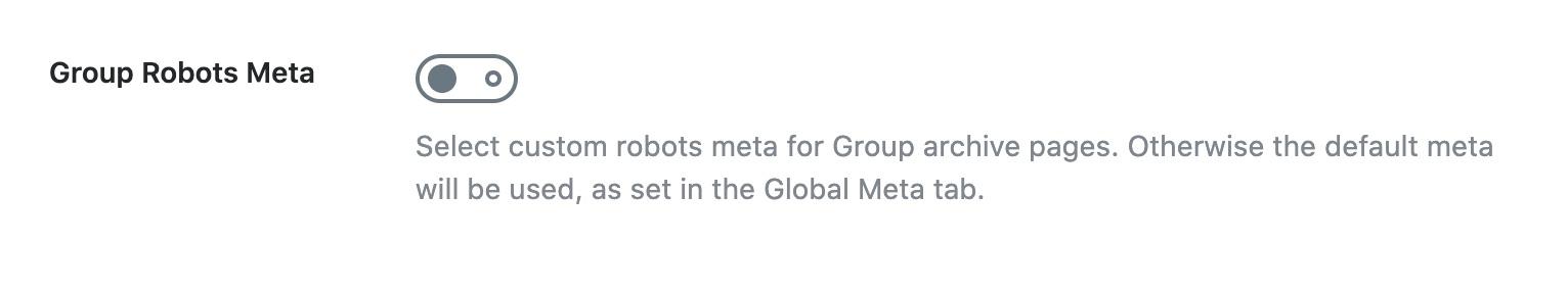 Group robots meta