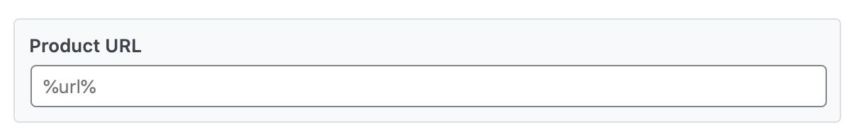 Product URL