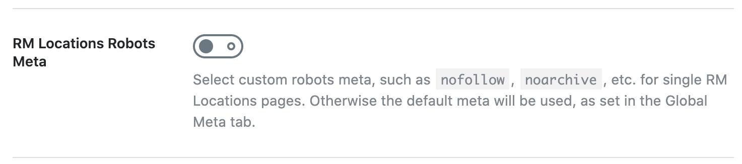 RM Locations robots meta