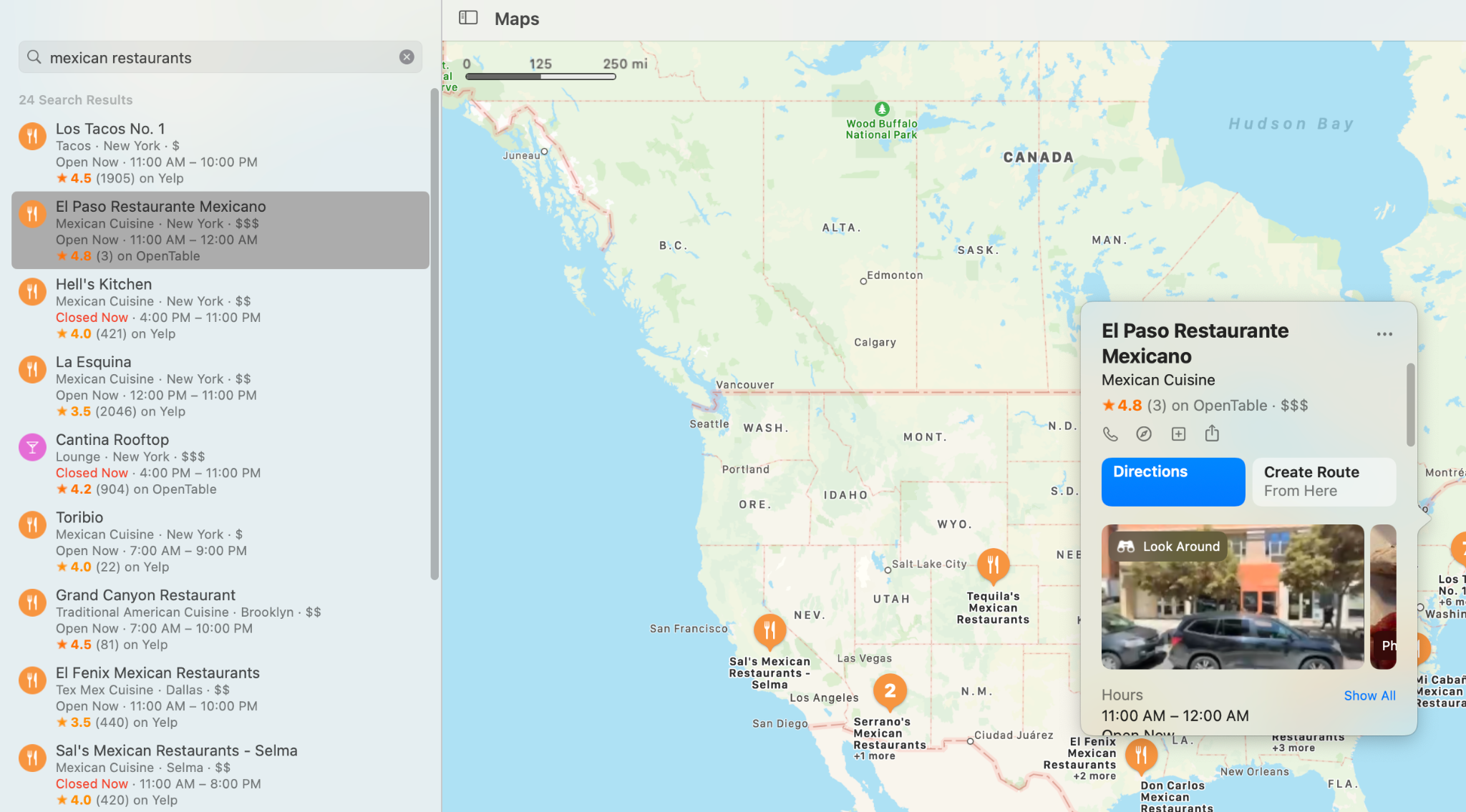 Apple Maps Connect Example