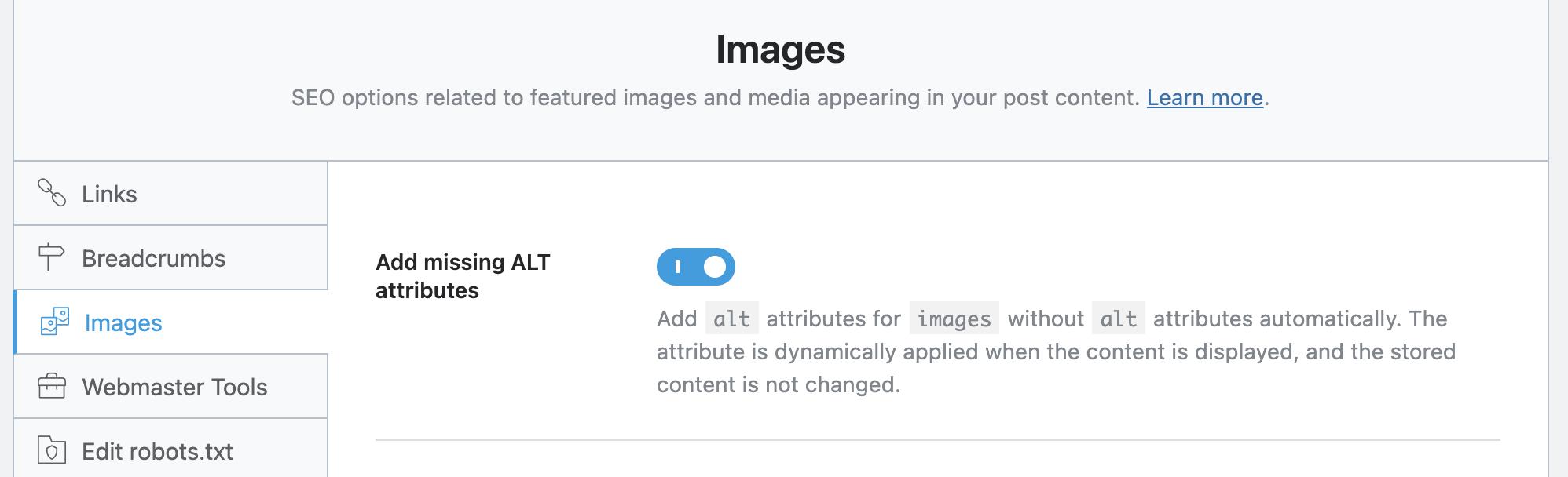 Automate Image SEO