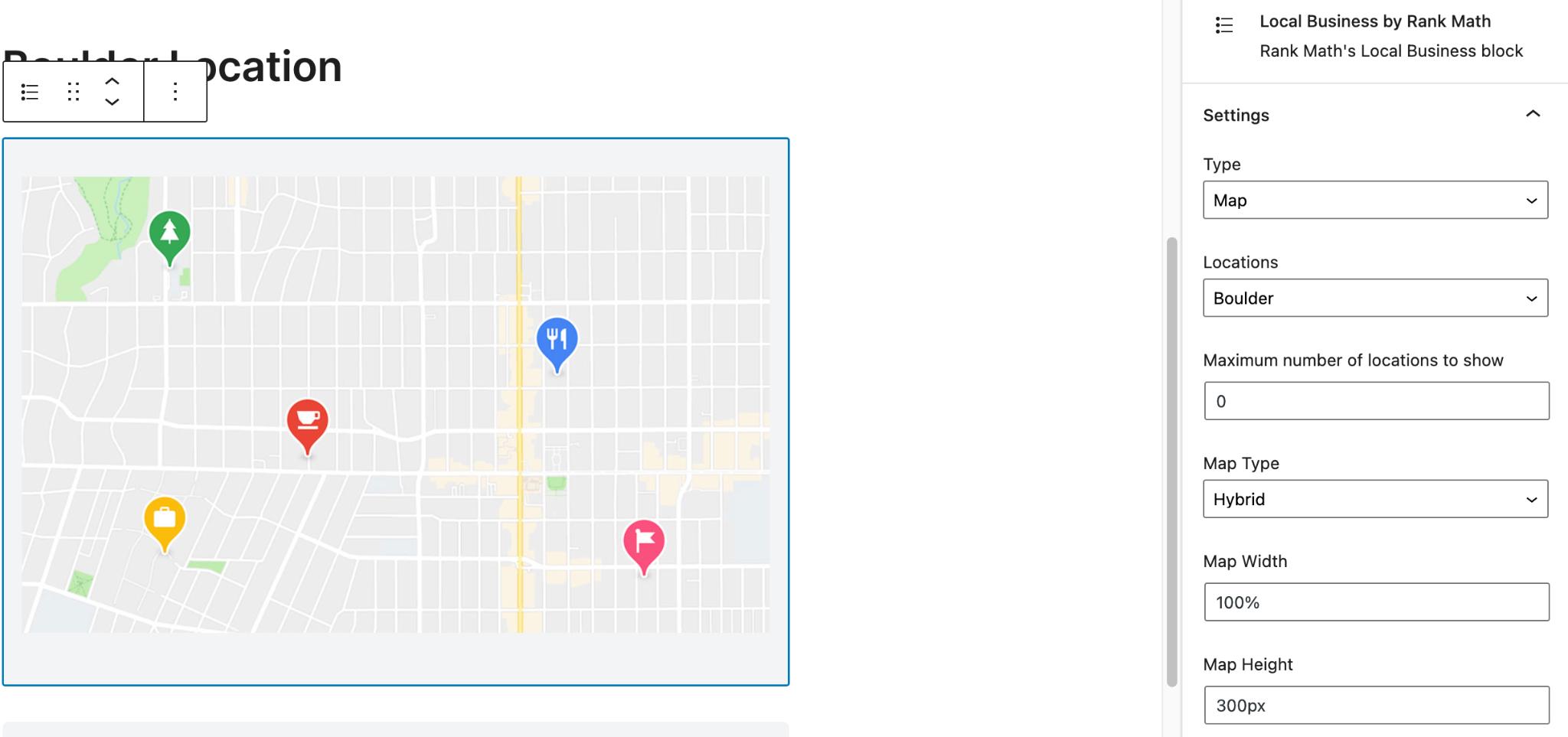 Embed Google Maps Local SEO