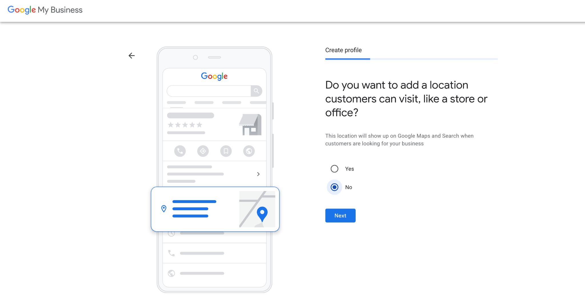 Google My Business Service Area Business