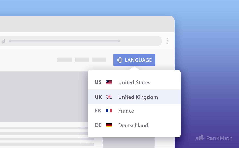 Multilingual Website Canonical URLs