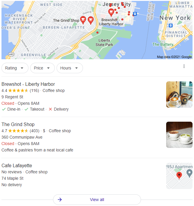 Local Search Example