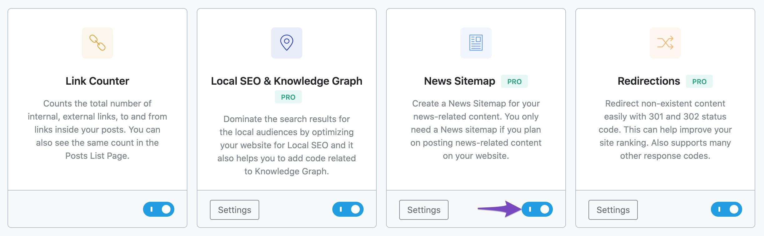 Enabling News Sitemap module