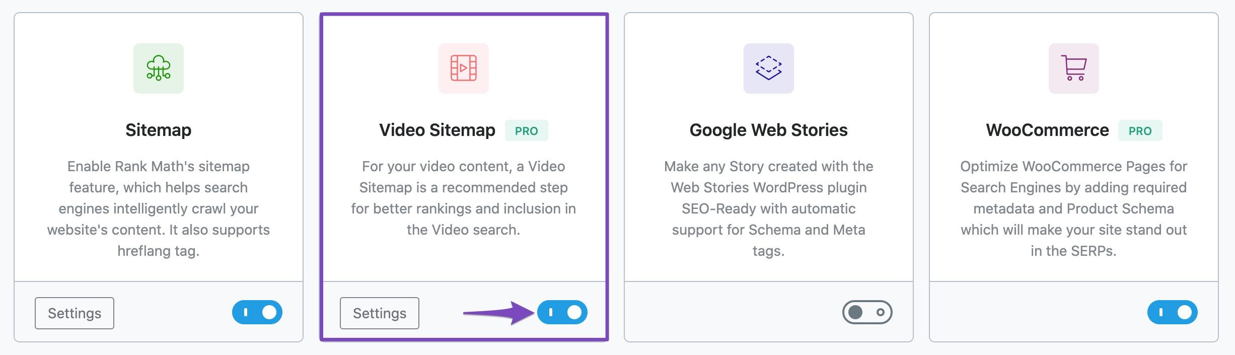 Enabling Video Sitemap module