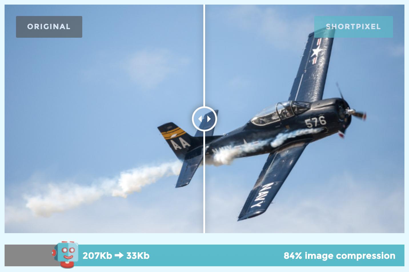 Image Compression Before/After Comparison