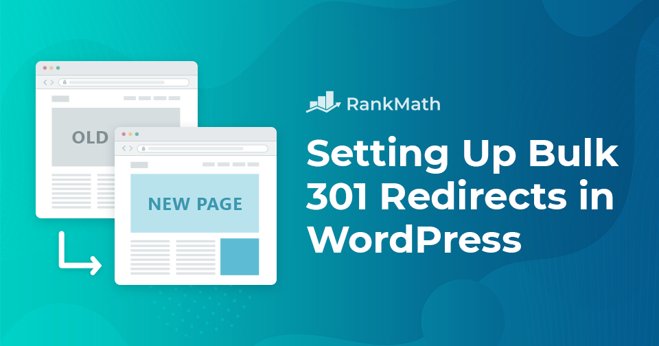 How to Setup Bulk 301 Redirects in WordPress (The Best Way)