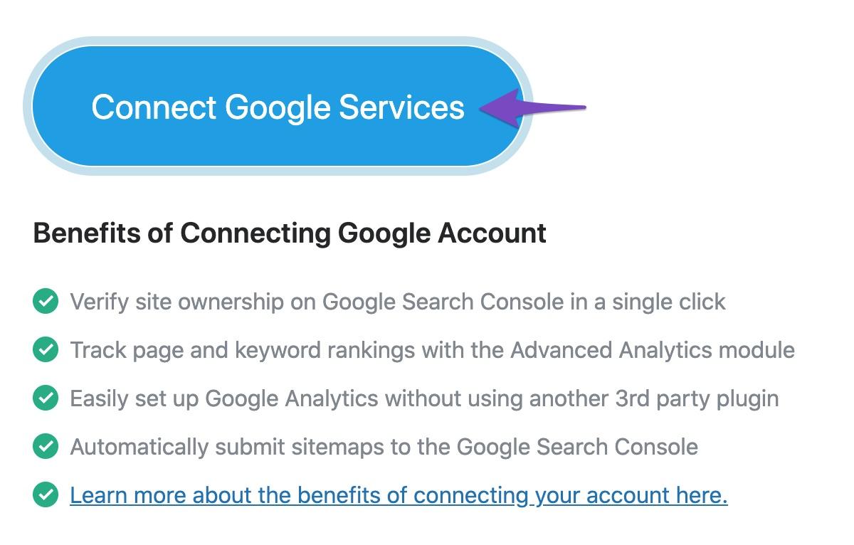 Connect Google Service