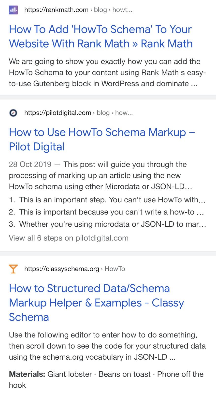 Manual SERP Analysis