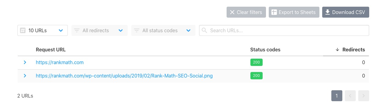 Check if URL is accessible